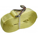 Strap for ratchet tie down + hook 8.5 meters / 5 t