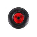 Hjul + däck liten 3,00 - 4 stålkanter