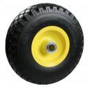 Rad + Reifen kleine PU 3.00-4 Stahl Felge