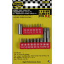 Bit set torx 16 pieces ch