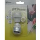 Tap nozzle chrome/white