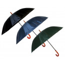 wholesale Bags & Travel accessories: Umbrella mix (black bl g) 120 cm 16 strips