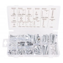 Bolt- and nut selection 240 piece