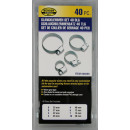 wholesale Ironmongery:Hose clamp set 40 piece