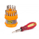 wholesale Garden & DIY store: Screwdriver 31 pieces precision