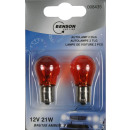 Car light 12 volt 21w 2x bau 15 s amber