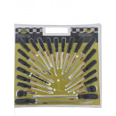 wholesale Garden & DIY store: Screwdriver set 22 pieces complete