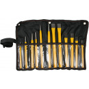 wholesale Garden & DIY store: Chisel - punch set 12 pieces jumbo