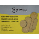 Plasters 100 pieces mix