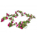 wholesale Party Items: Bicycle flower garland 220 cm mix color