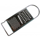 wholesale Kitchen Utensils: Grater flat chrome 11 x 31cm