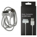Usb cable 1 meters => apple 3g