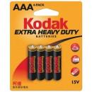 Kodak heavy duty aaa 4 pezzi
