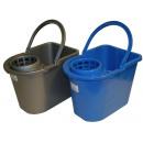 Bucket 15 l + wringer / colour mix