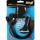 Mobile phone charger all in 1 220v/12v