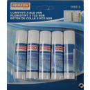 Adhesive pen 5 pieces 9gr blister card