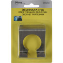 grossiste Quincaillerie:Over doorhook 1pcs ss