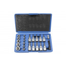Torx bit - socket set 30 pieces Chrome Vanadium