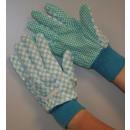 Rigger guanti stock di stampa giardino