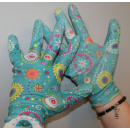 wholesale Working clothes: Rigger gloves pu flex lady