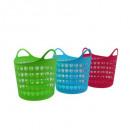 wholesale Organisers & Storage: Basket flexible  mix color 67 x 28,5 x 28