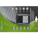 Battery charger dropcount type 500ma blister card