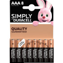 Duracell plus duralock aaa 8 pack