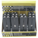 wholesale Garden & DIY store: Multitool set 15 cm display