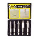 Screw remover 5 pieces box