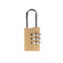 Lakat kombinációs zár TRI-CIRCLE 25 mm buborékfóli