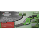 Cordless grass/hedge trimmer 3.6v li-ion 2 in 1
