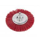 Nylon wheel brush, drill / 100 mm