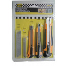 Cutter knife set 26 pieces benson