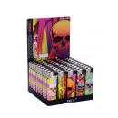 Zapalniczka (kolorowe Skulls )