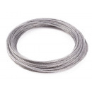 Steel rope 15 m x 3 mm
