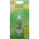 Halogen lamp eco c35 53w e27 dimmable