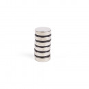 Magnet superstrong 6 pieces 12 x 3 mm