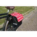 wholesale Bags & Travel accessories: Bicycle bag 32 liters polkadot mix
