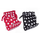 Bicycle shopper 20 liters polkadot mix