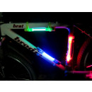 Bicycle light led color frame