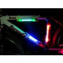 Cadre lumineux à bicyclette