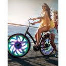 Bicycle light led color wheel 16 motifs