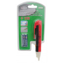 Non-conductive voltage tester + led