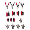 wholesale Cars & Quads: Crocodile clip set 28 pieces