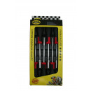 Tray socket screwdriver 6 pieces
