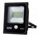Großhandel Consumer Electronics: Led Flutlicht 50  Watt smd + Sensor - flache Linie