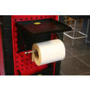 wholesale furniture: Paper roll holder + compartmented shelf rd1268
