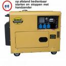 Generator 5000 Watt 3 x 220V digitaler Diesel