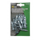 Hollow wall anchors m4* 32 mm 25 pieces