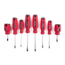 Screwdriver set 8 pieces profi